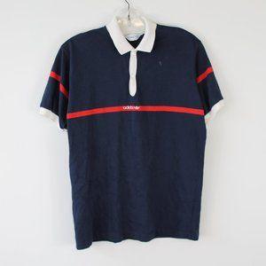 Vintage 70s Adidas Golf Shirt Size Medium